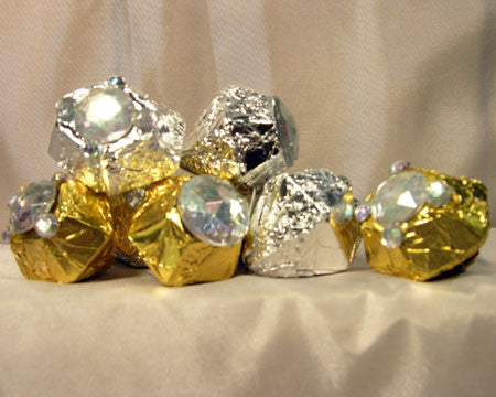 milk chocolate diamonds