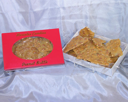 box of peanut brittle