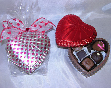 Chocolate Heart Box, assorted chocolates