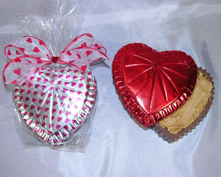 Chocolate Heart Box, Peanut Butter filled, Lg