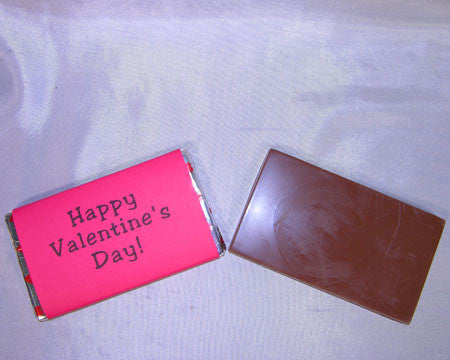 Medium Happy Valentine's Day candy bar