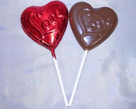 chocolate Love lollipop