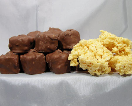 Chocolate Covered Rice Krispies Treats
