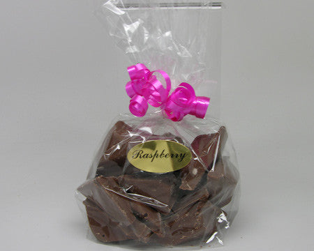 flavored chocolate chunks half lb