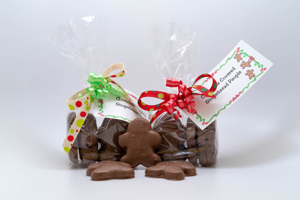 Chocolate covered gingerbread people