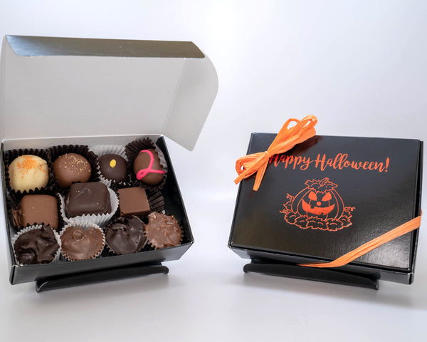 happy halloween assorted chocolates 5 ounces