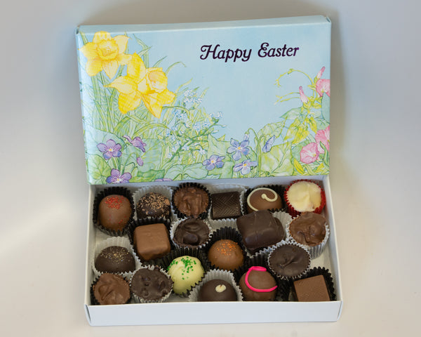 Happy Easter Assorted Chocolates half Lb