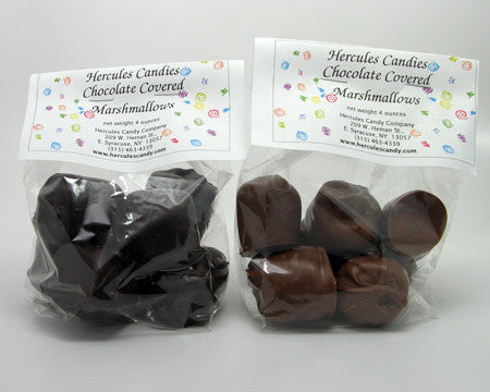Chocolate Dipped Marshmallows quarter Lb