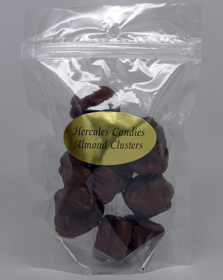 chocolate nut clusters 4 oz.
