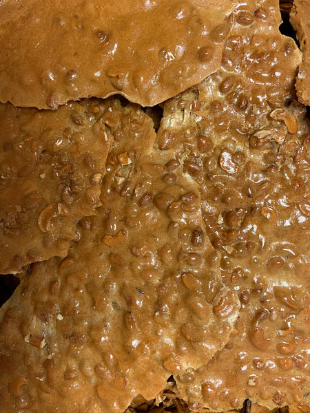 peanut and cashew brittle
