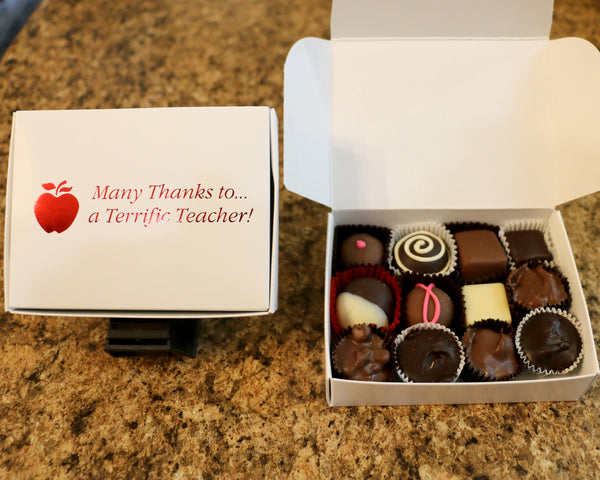 thank you teacher assorted chocolates 5 ounces