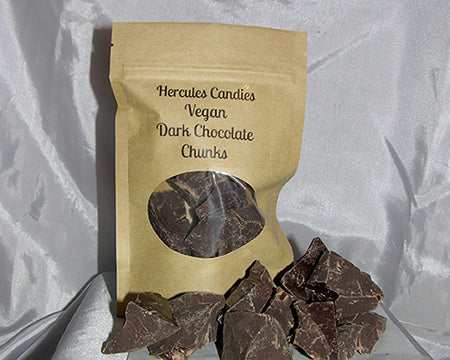 vegan dark chocolate chunks, 4 ounces