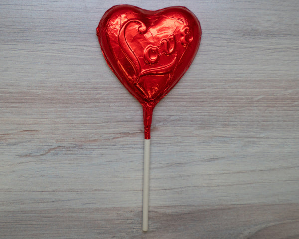 Vegan Love Lollipop