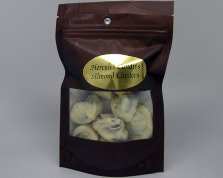 White Chocolate Almond Clusters 4 oz.