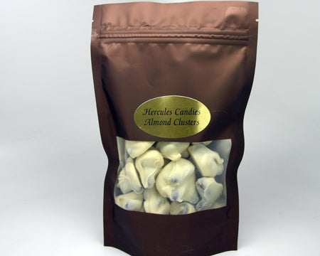 White Chocolate Almond Clusters 8 ounce bag