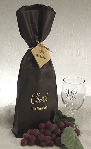 Wine bags personalized