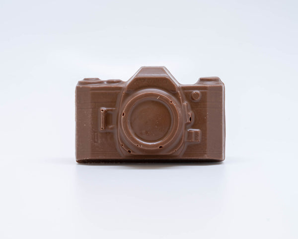 milk chocolate camera