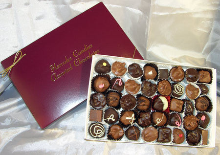 1 pound box assorted chocolates