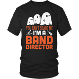 Band - Halloween Ghost - District Unisex Shirt / Black / S - 2