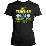 Science - Eggcellent - District Made Womens Shirt / Black / S - 4