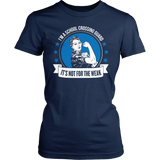 Crossing Guard - Not For The Weak - District Made Womens Shirt / Navy / S - 6