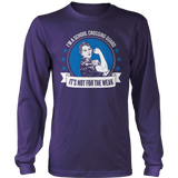 Crossing Guard - Not For The Weak - District Long Sleeve / Purple / S - 11