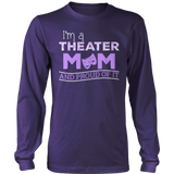 Theater - Proud Mom - District Long Sleeve / Purple / S - 11