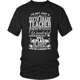 Sixth Grade - Big Cup - District Unisex Shirt / Black / S - 6