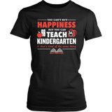Kindergarten - Happiness - District Made Womens Shirt / Black / S - 6
