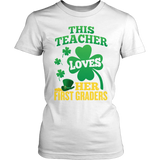 First Grade - St. Patrick's First Graders - District Made Womens Shirt / White / S - 6