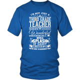 Third Grade - Big Cup - District Unisex Shirt / Royal Blue / S - 8