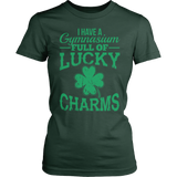 Phys Ed - Lucky Charms - District Made Womens Shirt / Forest Green / S - 5