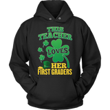 First Grade - St. Patrick's First Graders - Hoodie / Black / S - 11