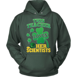 Science - St. Patrick's Scientists - Hoodie / Dark Green / S - 12