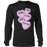 Theater - Candy Hearts - District Long Sleeve / Black / S - 9