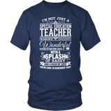 Special Education - Big Cup - District Unisex Shirt / Navy / S - 5