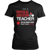 Phys Ed - Cooler - District Made Womens Shirt / Black / S - 7