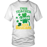 Music - St. Patrick's Musicians - District Unisex Shirt / White / S - 2