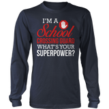 Crossing Guard - Superpower - District Long Sleeve / Navy / S - 10