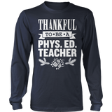 Phys Ed - Thankful - District Long Sleeve / Navy / S - 2