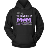 Theater - Proud Mom - Hoodie / Black / S - 12
