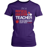 Phys Ed - Cooler - District Made Womens Shirt / Purple / S - 5