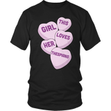 Theater - Candy Hearts - District Unisex Shirt / Black / S - 6