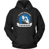 Crossing Guard - Not For The Weak - Hoodie / Black / S - 12