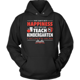 Kindergarten - Happiness - Hoodie / Black / S - 12