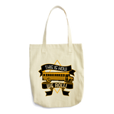 School Bus Driver - How We Roll Tote -  - 3