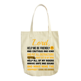 School Bus Driver - Prayer Tote -  - 1