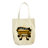 School Bus Driver - How We Roll Tote -  - 2