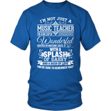 Music - Big Cup - District Unisex Shirt / Royal Blue / S - 8