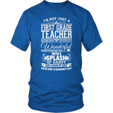 First Grade - Big Cup - District Unisex Shirt / Royal Blue / S - 8